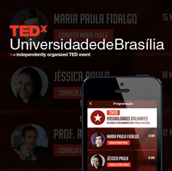 TEDx UnB iOS/Android/Web
